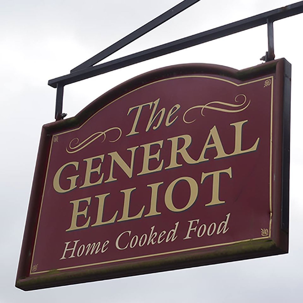 General Elliot pub sign in Croft