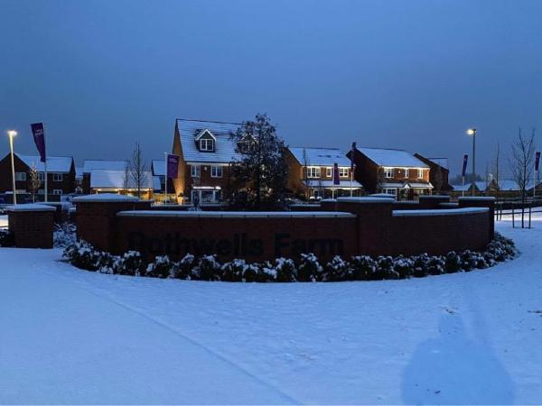 Nancy Reid's photo of Rothwells Farm, Lowton in the snow