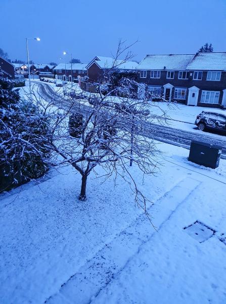 Sarah Smith's photo of Braithwaite Road, Lowton, in the snow