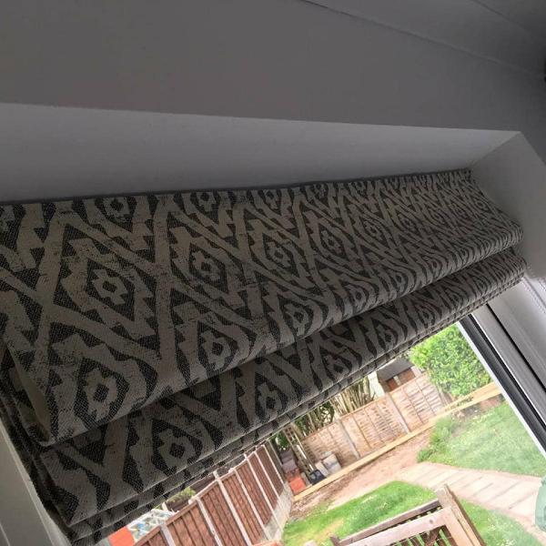 Roman blinds by Grove Blind & Shutter Co.
