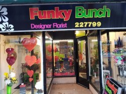 Funky Bunch Designer Florist shop in Newton-le-Willows