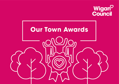 Graphic says Our Town Awards