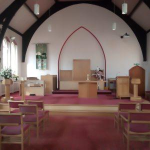 Heath Street Methodist Church current interior