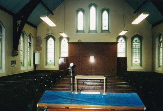 Heath Street Methodist Church in Golborne before its refurb in 2000