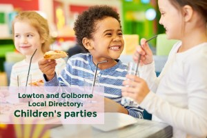 Lowton and Golborne Local Directory category for Children's Parties
