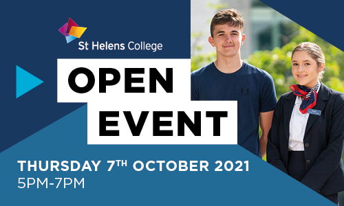 St Helens College open day