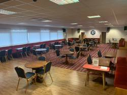 Inside Golborne Sports and Social Club