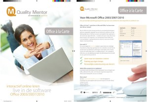 Quality Mentor, productsheets