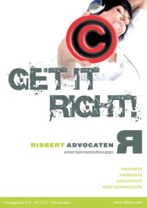 Ribbert Advocaten advertenties, posters