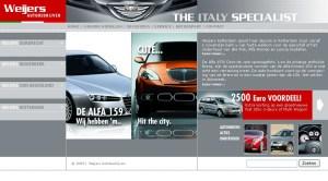 Weijers Automotive Lowtone webdesign en grafische vormgeving Den Haag