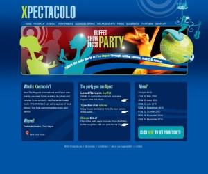Xpectacolo Lowtone webdesign en grafische vormgeving Den Haag