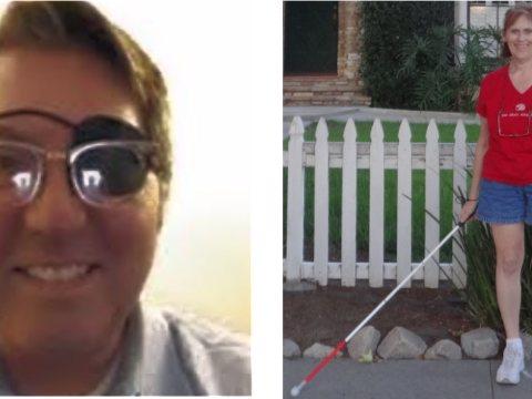 Photo of Chris Lona on the left. Photo of Tenayshus on right.