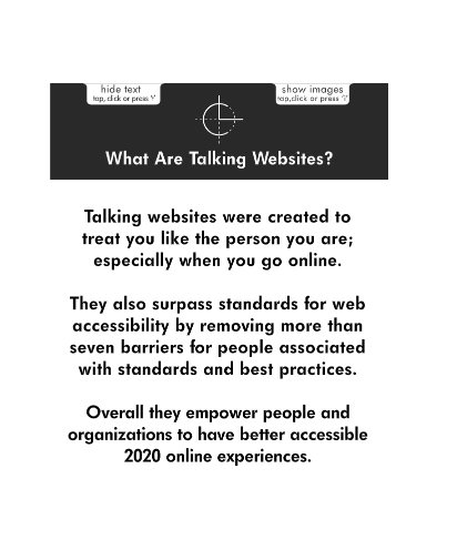 Logo: What are talking webites?