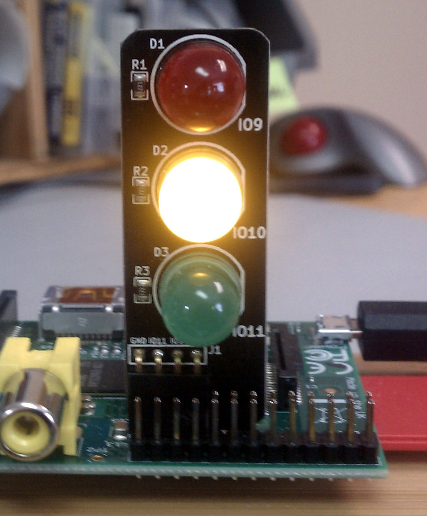 Pi Traffic Light Low Voltage Labs Led Circuit
