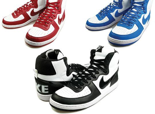 3e3895a7caf739 High Top Nike Terminators in Black