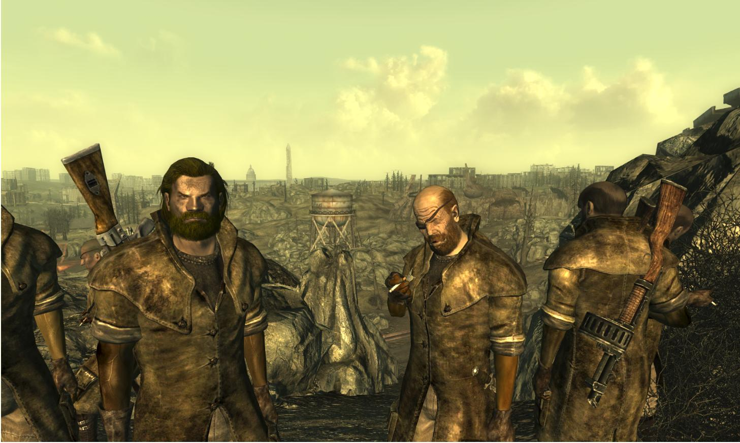 Fallout 3 Face & Hair, Mods & Textures! Little Something For