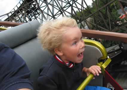 Best First Roller Coaster Ride Ever by Johnnyjct! A Roller Coaster Flowing w Emotions!