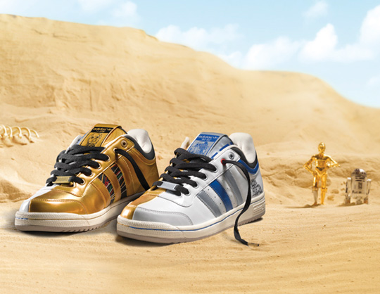 Adidas Originals Star Wars Fall/Winter 2010 Shoes ...