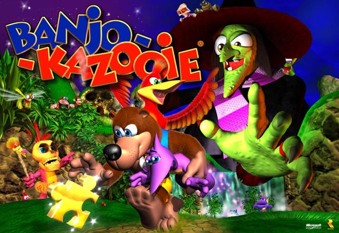 Grant Kirkhope click clock wood banjo kazooie pooppoopfart