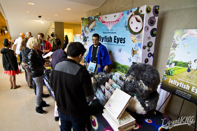 Takashi Murakami Jellyfish Eye Dallas 2014 LoyalKNG _37