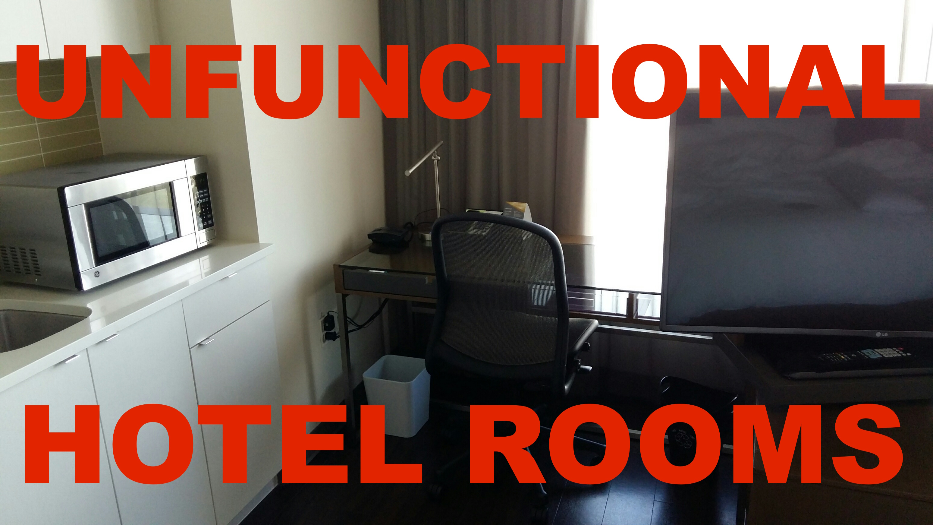 How To Avoid Hotels With Unfunctional Room Design And