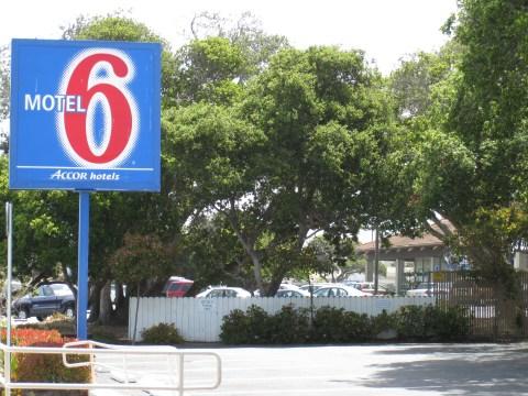 Motel 6, Monterey, California