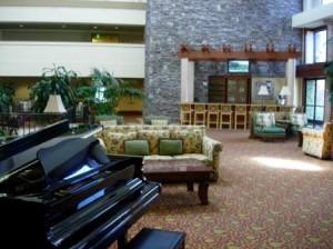 Doubletree Sonoma Hotel lobby, Rohnert Park, California