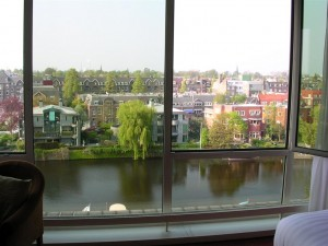 Amsterdam Hilton Canal View room
