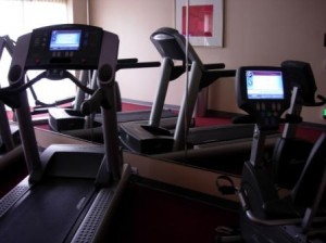 Hyatt Place gym, Fremont, California