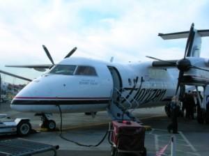 Alaska Airlines-Horizon Air plane