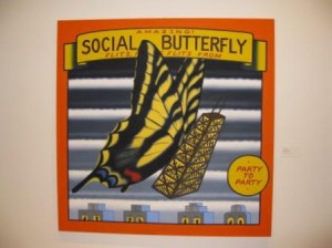 Social Butterfly, Roger Brown 1990
