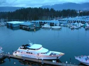 Westin Bayshore view, Vancouver, British Columbia