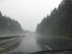 Torrential Rain Somewhere in Washington State
