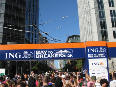 San Francisco bay-to-breakers-start-line