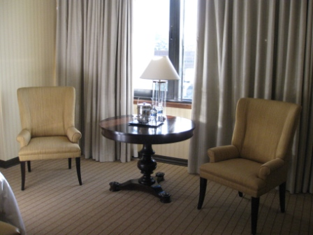 Sheraton Denver West guest room chairs
