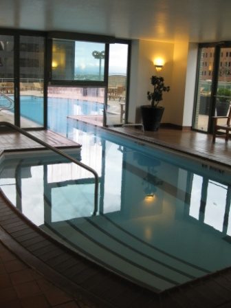 Westin Tabor Center Denver 4th Floor indoor-outdoor pool
