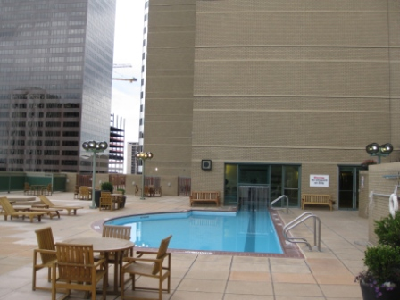 Westin Tabor Center Denver 4th floor pool deck