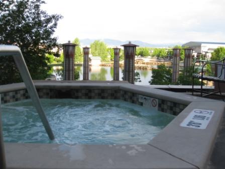 Denver Westin Westminster 2nd floor spa tub