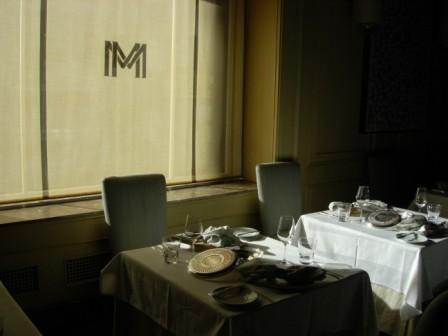 Westin St. Francis Michael Mina Restaurant