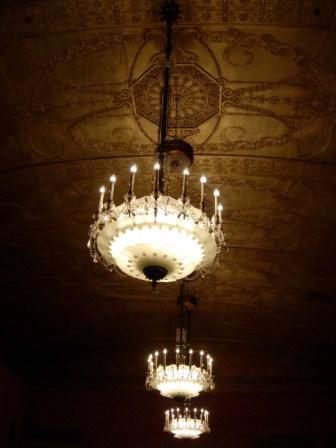 Westin St. Francis Ballroom Ceiling