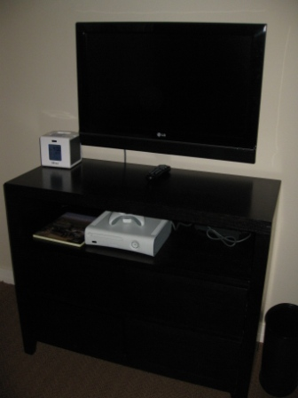 Westin Verasa Napa room entertainment system