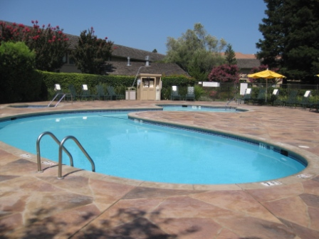Napa Valley Marriott pool