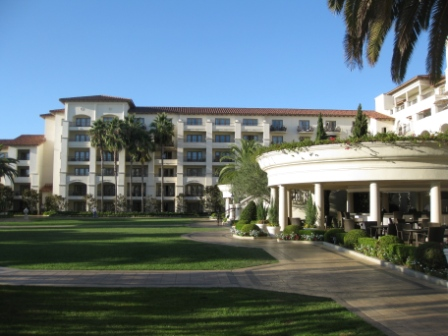 The north wing of St. Regis Monarch Beach
