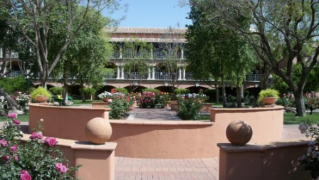 Interior Garden Courtyard at Fairmont Scottsdale
