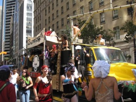 Loveolution Parade float