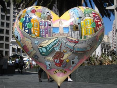Lost Heart San Francisco (Union Square)
