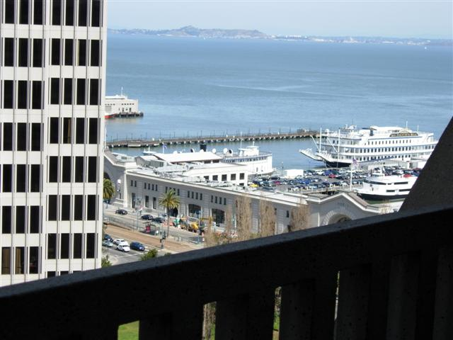 Hyatt Regency San Francisco Bay view