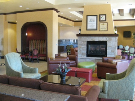 SpringHill Suites Napa Valley lobby area