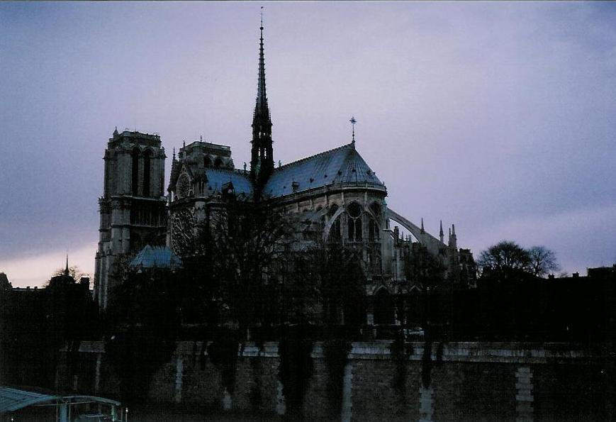 Notre Dame Cathedral, Paris (2000)