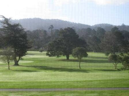 Golf course view Hyatt Regency Monterey